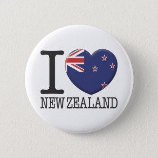 Neuseeland Runder Button 5,1 Cm