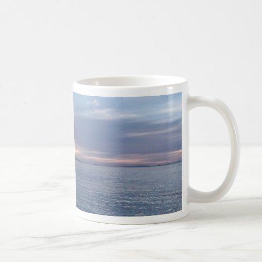 Neuseeland-Sonnenuntergang Tee Haferl