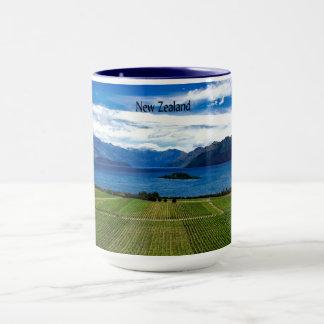 Neuseeland-Weinberg Tasse