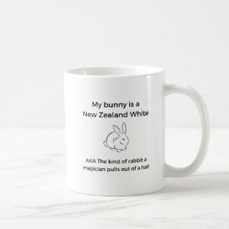Neuseeland-Weiß-Kaninchen Kaffeetasse