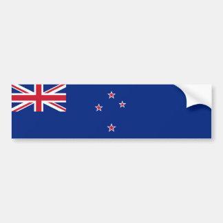 Neuseeland/Zealander/Kiwi-Flagge Autoaufkleber
