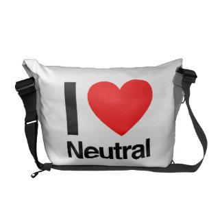 neutrale Person der Liebe I Kurier Tasche