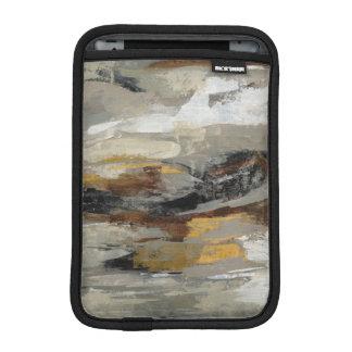 Neutraler abstrakter grauer Druck   Silvia iPad Mini Sleeve