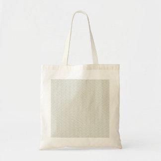 Neutrales Bio Blatt-Muster Einkaufstasche