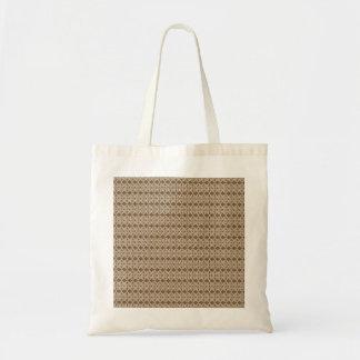 Neutrales Braunes und Sahne Taschen