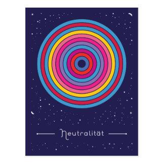 Neutralität Postkarte