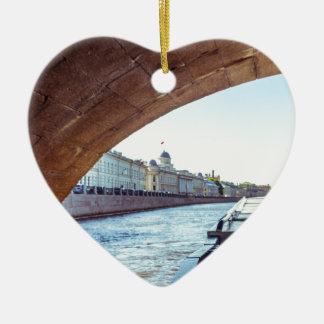 Neva Fluss-Kreuzfahrt Keramik Ornament