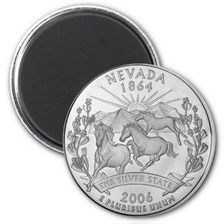 Nevada 2006_NV_Unc Runder Magnet 5,7 Cm