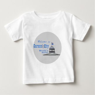 NEVADA Carson City Baby T-shirt