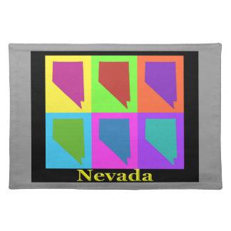 Nevada-Karte Tischset