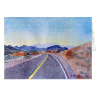 Nevada-Landstraße Karte
