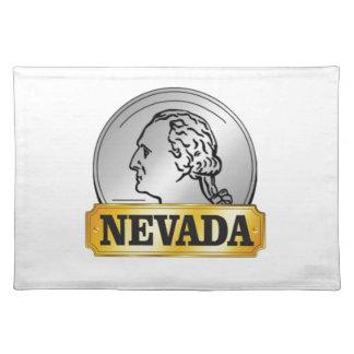 Nevada-Münze Stofftischset