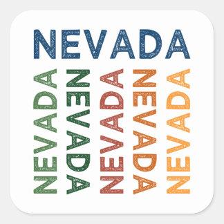 Nevada-niedliches buntes sticker