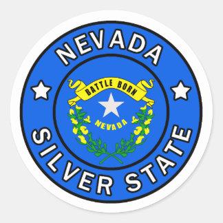 Nevada Runder Aufkleber