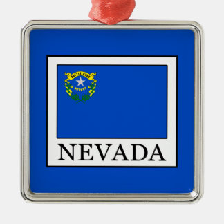 Nevada Silbernes Ornament