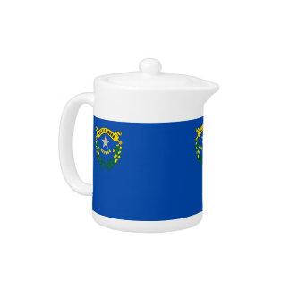 Nevada-Staats-Flaggen-Teekanne