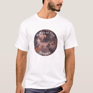 Nevada-Tal des Feuerpetroglyphe-Shirts T-Shirt
