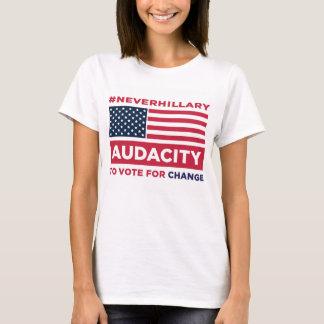 #NEVERHILLARY T - Shirt