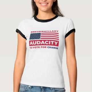 #NEVERHILLARY Wecker-T - Shirt