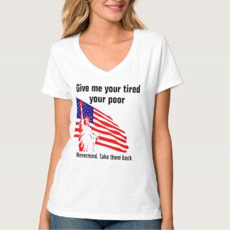 Nevermind. Nehmen Sie ihnen ~ politische Satire T-Shirt