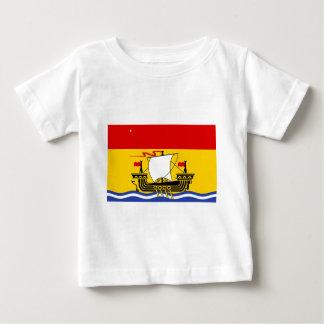 New-Brunswick Flagge Baby T-shirt