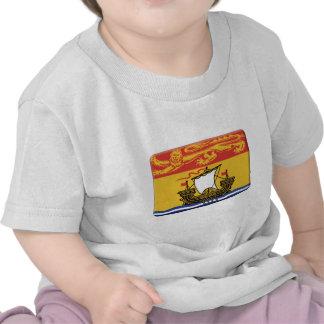 New-Brunswick Flagge PERSONIFIZIEREN T-shirt