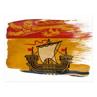 New-Brunswick Flaggen-Postkarten Postkarte