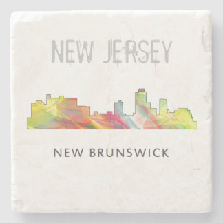 NEW-BRUNSWICK, NEW-JERSEY SKYLINE WB1 - STEINUNTERSETZER