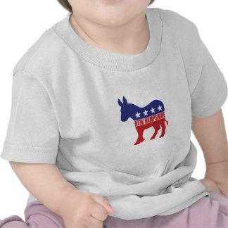 New Hampshire-Demokrat-Esel Hemd
