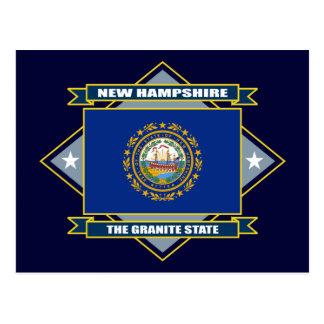 New Hampshire-Diamant Postkarte