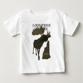 New Hampshire-Elche Baby T-shirt