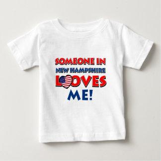NEW HAMPSHIRE-Entwürfe Baby T-shirt