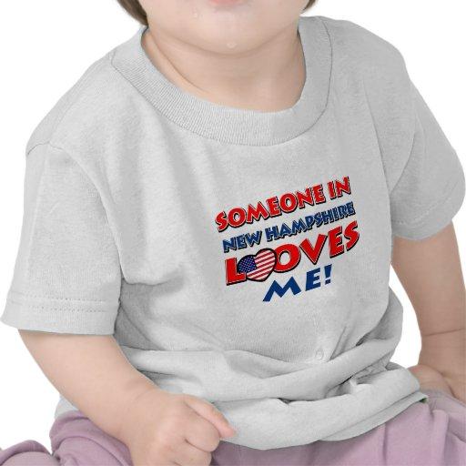 NEW HAMPSHIRE-Entwürfe Shirt