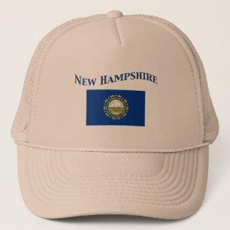 New Hampshire-Flagge Truckerkappe