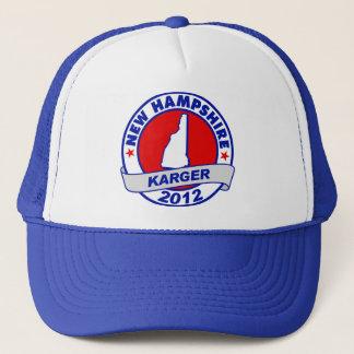 New Hampshire Fred Karger Truckerkappe