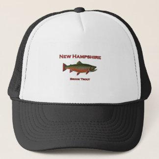 New Hampshire-Frischwasserfischen - Bachforelle Truckerkappe