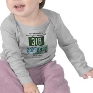 New Hampshire-Kfz-Kennzeichen Centennial Hemden
