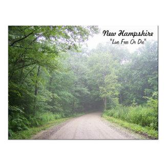 "New Hampshire ""lebhaftfreies oder die "" Postkarte"