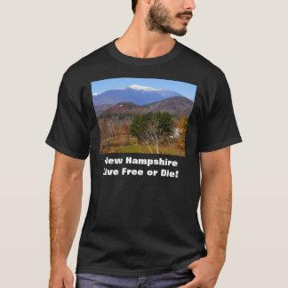New Hampshire lebhaftfreies oder die T-Shirt