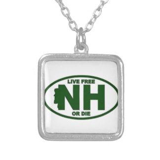 New Hampshire Livegebühr oder die Halskette Mit Quadratischem Anhänger