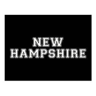 New Hampshire Postkarte
