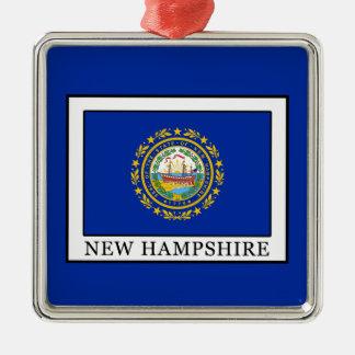 New Hampshire Silbernes Ornament