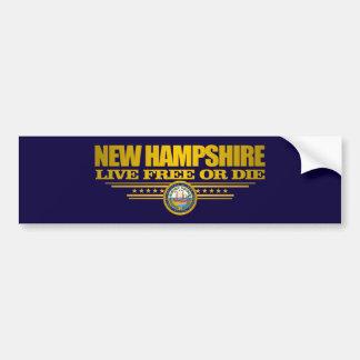 New Hampshire (SP) Autoaufkleber