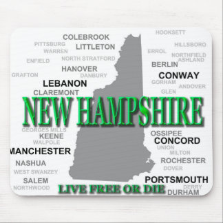 New Hampshire Staat Mousepad