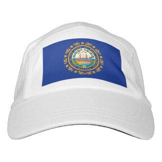 New Hampshire Staats-Flaggen-Entwurf Headsweats Kappe