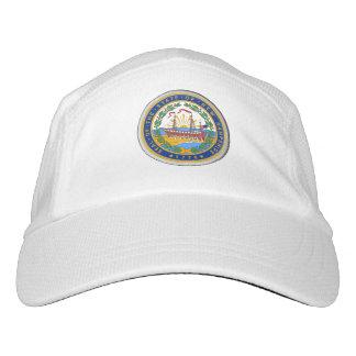 New Hampshire Staats-Siegel - Headsweats Kappe
