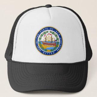 New Hampshire Staats-Siegel Truckerkappe