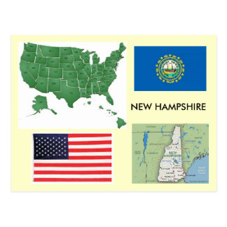 New Hampshire, USA Postkarten