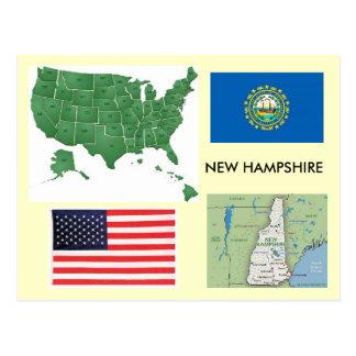 New Hampshire, USA Postkarten