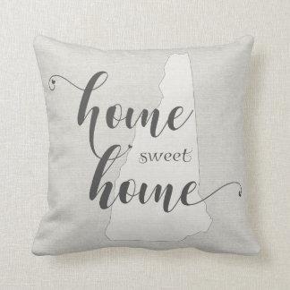 New Hampshire - Zuhause-süßer Zuhause Kissen